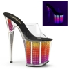 FLAMINGO-801SRS Clear/Neon Multi